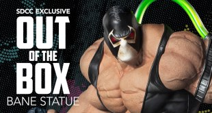 San Diego Comic-Con Exclusive - Bane Statue Unboxing!