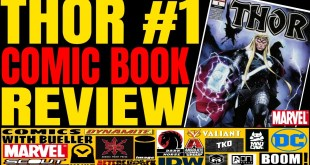 THOR #1 Comic Book Review - MARVEL COMIC - Writer Donny Cates and Art by Nic Klein