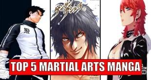 Top 5 Martial Arts Manga and Manhwa You Should Read