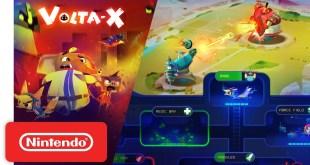 Volta-X - Release Date Trailer - Nintendo Switch