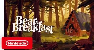 Bear & Breakfast - Announcement Trailer - Nintendo Switch