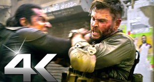 Chris Hemsworth Street Fight Scene (NEW 2020) EXTRACTION Ultra 4K HD