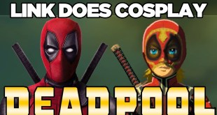 Link Does COSPLAY! Deadpool Cosplay in Breath of the Wild | Austin John Plays