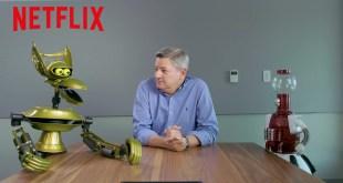 MST3K | Tom Servo & Crow Pitch Shows to Netflix [HD] | Netflix
