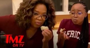 Oprah Jokes About Nutella In Africa | TMZ TV