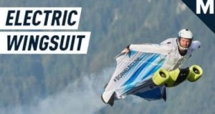 The World's First Electric Wingsuit Can Fly At 186 MPH   Mashable