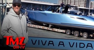 Tom Brady Buys Multi Million Dollar Super Boat | TMZ TV