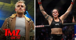 UFC Star Amanda Nunes Says 'I'm In' To Fight Jake Paul | TMZ TV