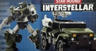 Aoyi's Transformers : Interstellar - Star Hound (Transformations)