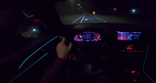BMW 8 Series M850i Night Mode POV -  Animated Video w/ Goldlink Zulu Screams