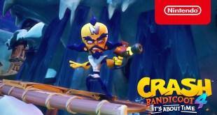 Crash Bandicoot 4: It's About Time - Announcement Trailer - Nintendo Switch
