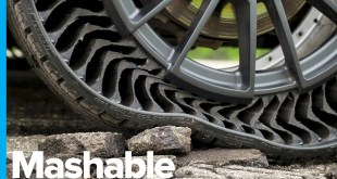 Michelin and General Motors Unveil Airless, Puncture-proof Tires