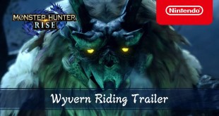 Monster Hunter Rise - Wyvern Riding Trailer - Nintendo Switch