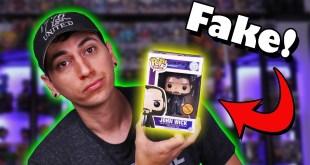 SCAM! Real vs Fake Funko Pops - Fake Funko Scam Update