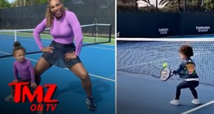 Serena Williams' Daughter ... Next Great Tennis Star?! | TMZ TV
