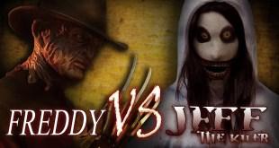Freddy vs Jeff the Killer | Creepypasta meets Nightmare on Elm St. | Horror free full movie
