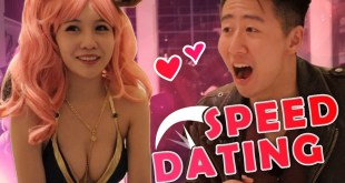 I went on SPEED DATES with COSPLAY GIRLS