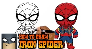 Infinity War | How to Draw Iron Spider (Art Tutorial)