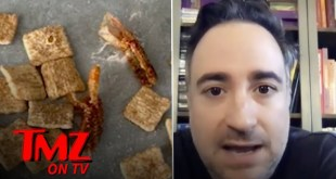 Man Reportedly Finds Shrimp Tails In His Cinnamon Toast Crunch! | TMZ TV