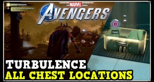 Marvel Avengers Game: Turbulence All Chest Locations (Collectibles, Comics, Gear, Artifacts)