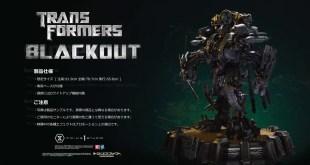Prime 1 Studio Blackout & Scorponok Transformers Statues