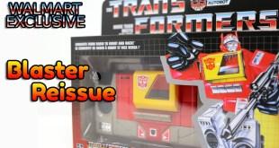 Transformers G1 Walmart Reissue Blaster Review
