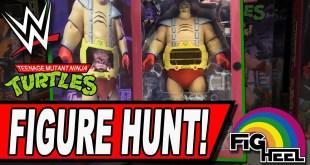 WWE & TMNT Figure Hunt for Elites, AEW Unrivaled & Funko Pop! BONUS WCW ToyBiz UNBOXING!