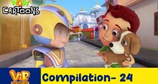 Vir the robot boy | Action Cartoon Video | New Compilation - 24| Kids Cartoons | Wow Cartoons
