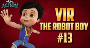 Vir: The Robot Boy | Hindi Cartoon Compilation For Kids | Compilation 13 | WowKidz Action
