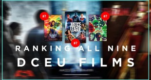 ALL 9 DCEU FILMS RANKED!