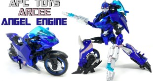 APC Toys APC 005 Angel Engine TFP Arcee Review