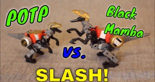 Black Mamba KO OS Transformers POTP Slash - GotBot True Review NUMBER 728