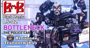 Black Mamba LS-02 Bottleneck KO Transformers MPM-5 Barricade