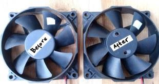 DIY Upgrade Speed Brushless DC Fan part1