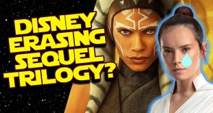 Disney to RETCON AWAY Star Wars Sequels with AHSOKA Series on Disney Plus?!