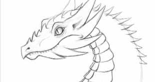 How to draw a dragon - 10 minute fast doodle 1