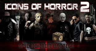 ICONS of HORROR 2 Freddy Krueger Michael Myers Jason Voorhees Pinhead Darkman Candyman Punisher