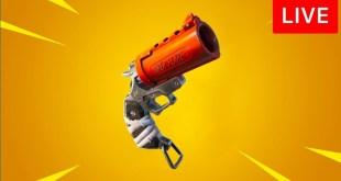 🔴 [LIVE] *NEW* FORTNITE UPDATE! (FLARE GUN)