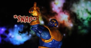 MARVEL LEGENDS THANOS THE INFINITY GAUNTLET DELUXE ACTION FIGURE REVIEW