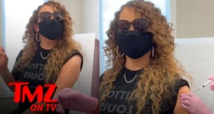 Mariah Carey Hits High Note As She Gets COVID Vaccine | TMZ TV
