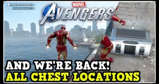 Marvel Avengers Game: And We're Back All Chest Locations (Collectibles, Comics, Gear, Artifacts)