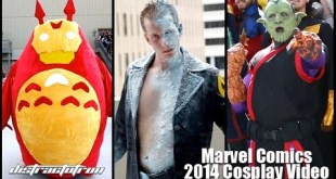 Marvel Comics 2014 Cosplay Video