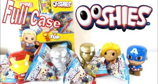 Marvel Ooshies Collectible Figures FULL Case Unboxing & Review