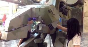 Otakon 2014 - Metal Gear REX Cosplay Assembly
