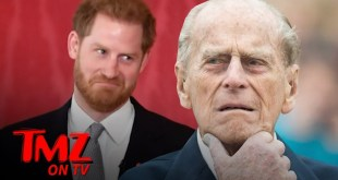 Prince Harry to Travel Without Meghan to UK for Prince Philip's Funeral | TMZ TV