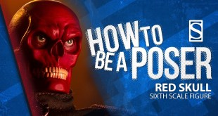 Red Skull Sixth Scale Figure by Sideshow | How to Be a Poser