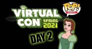 Funko Virtual Con Spring 2021 Exclusive Pop Reveals - Day 2 (ECCC)