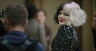 Cruella Movie 2021 Walt Disney Feature Fashion Fatale w/ Emma Stone & Emma Thompson