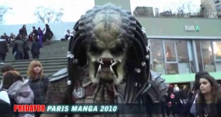 Full predator costume in live Paris Manga
