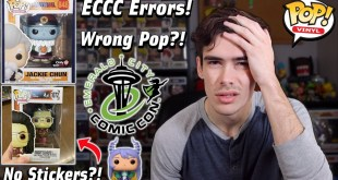 Funko Pop Errors With ECCC 2021 | Walmart Exclusives No Stickers | GameStop Releases Wrong Pops